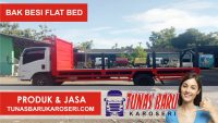 Bak Besi Flat Bed (Los Bak)